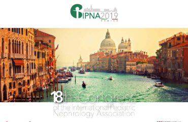 IPNA Congress Venice, Italy in October 2019